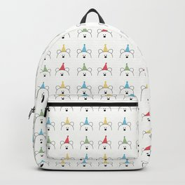 Party Bear Party Hats Pattern Design Backpack