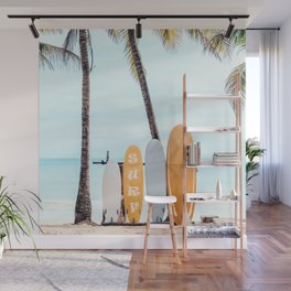 Choose Your Surfboard Wall Mural
