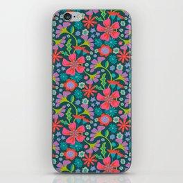 POP FLORAL Pattern iPhone Skin