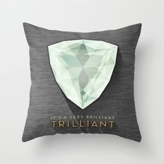 Trilliant Throw Pillow