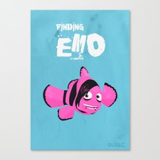 Coupling up (accouplés) Finding Emo Canvas Print