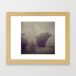 Smokestacks Framed Art Print