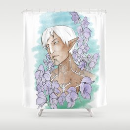 Companions - Fenris Shower Curtain