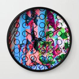 Future circles Wall Clock