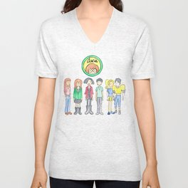 Daria and Friends Unisex V-Neck