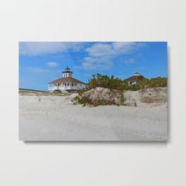 Dunes on Gasparilla I Metal Print