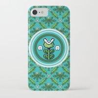 deco iPhone & iPod Cases featuring 8bit Deco by Bubblegun