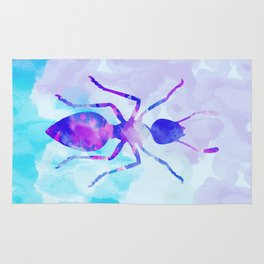 Abstract Ant Rug