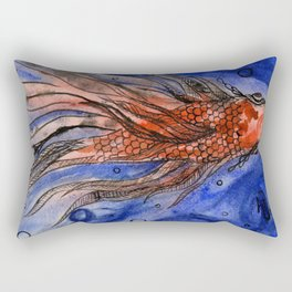 Fred the Fish Rectangular Pillow