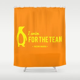 FOR THE TEAM - Hazuki Nagisa Shower Curtain