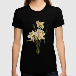 Double Narcissi Bouquet Vector T-shirt