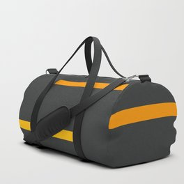 Abstract Minimal Retro Stripes Ashtanga Duffle Bag