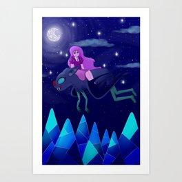 Calm Night Art Print