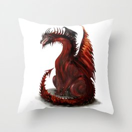 Challenger Lone Dragon Abstract Throw Pillow