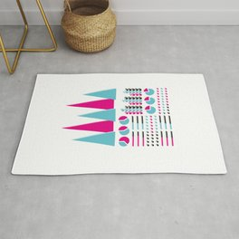 Infographic Selection Rug