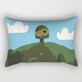 Laputa Castle in the Sky Rectangular Pillow