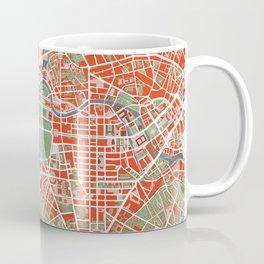 Berlin city map classic Coffee Mug
