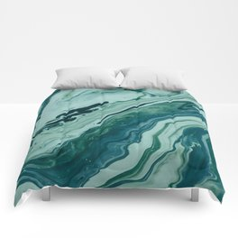 Blue Planet Marble Comforters