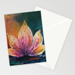 The Lotus House of Love, Peace & Migration Stationery Cards