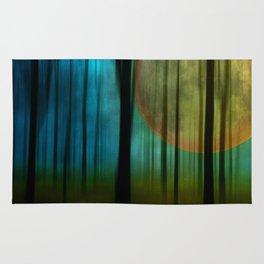 Full Moon Forest Rug