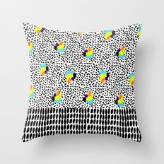 Tropical Abstract Throw Pillow