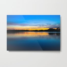 Sunset at Stumpy Lake in Virginia Beach Metal Print