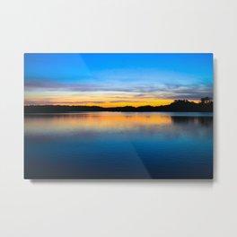 Sunset at Stumpy Lake in Virginia Beach Metal Print