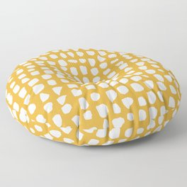 Dots (Mustard) Floor Pillow