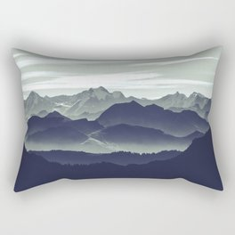 Mountains are calling for us Rectangular Pillow