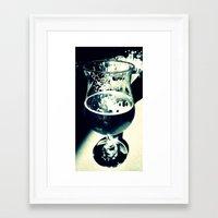 beer Framed Art Prints featuring Beer by Derek Fleener