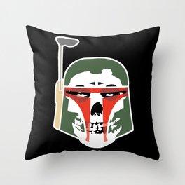 Boba MisFetts Throw Pillow