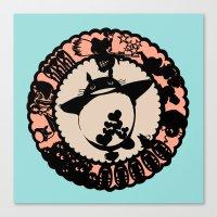 ghibli Canvas Prints featuring Studio Ghibli  by HouseOfWonderland