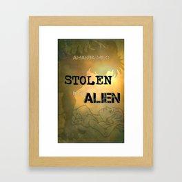 Stolen by an Alien Framed Art Print