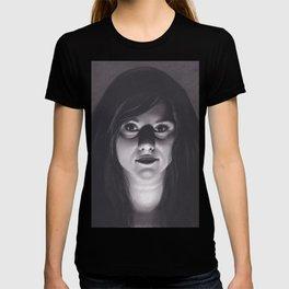 Realism Drawing of Dark Veiled Gypsy Woman T-shirt
