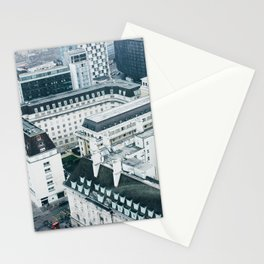 View of London Streets from the London Eye Stationery Cards