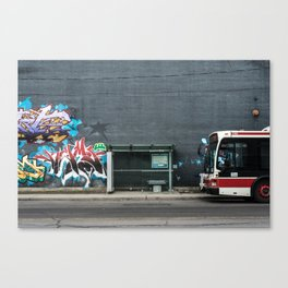 Queens Quay, Toronto Canvas Print