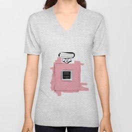 Pink perfume #6 Unisex V-Neck