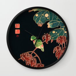 Ito Jakuchu - The Paroquet Wall Clock