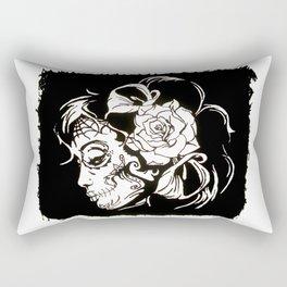 Dama De Los Muertos Rectangular Pillow