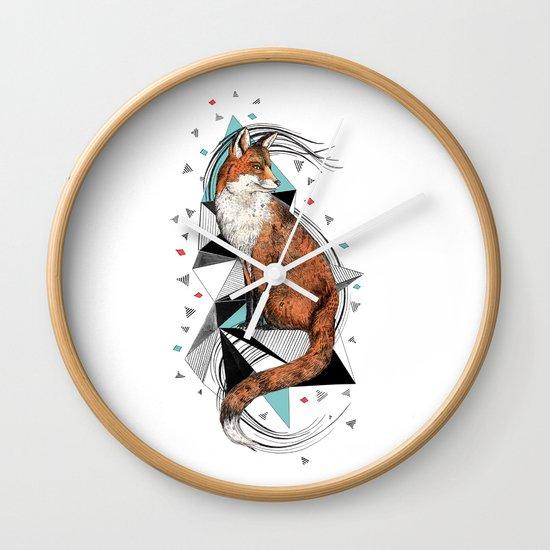 Foa the Fox Wall Clock
