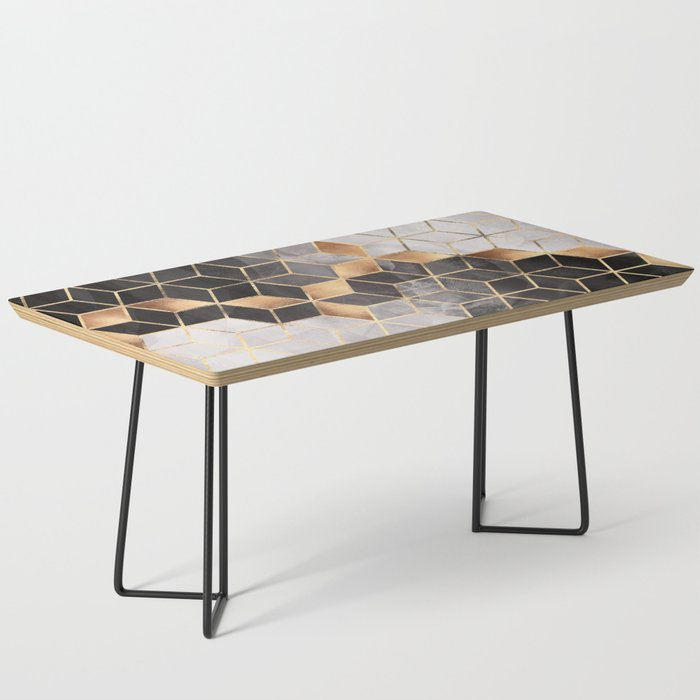 Smoky Cubes Coffee Table