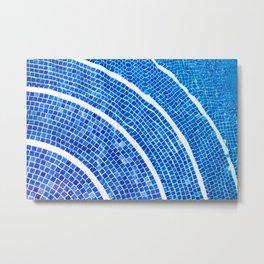 Swimming pool line Metal Print