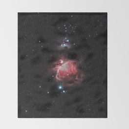The Great Nebula in Orion Throw Blanket