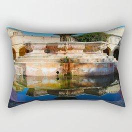 Reflections in La Merced Rectangular Pillow