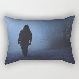 Walk into this void Rectangular Pillow