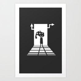 Crona Fury  Art Print