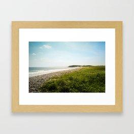 plage Framed Art Print