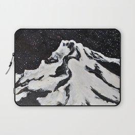 Mount Hood and Stars Laptop Sleeve
