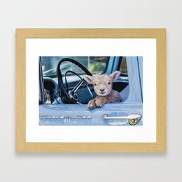 What seems to be the problem Officer? Framed Art Print