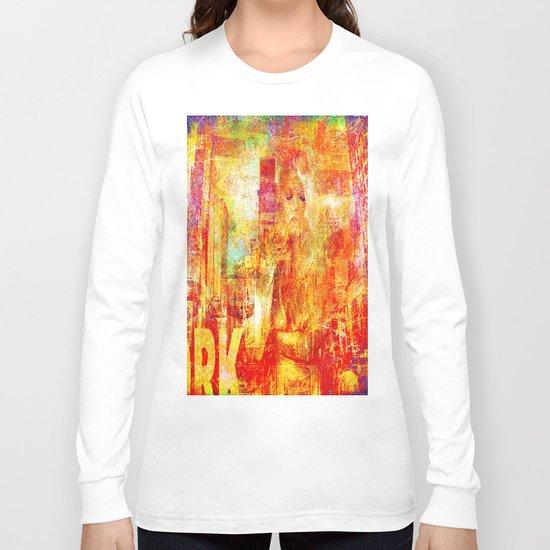 Girl in New-York  Long Sleeve T-shirt